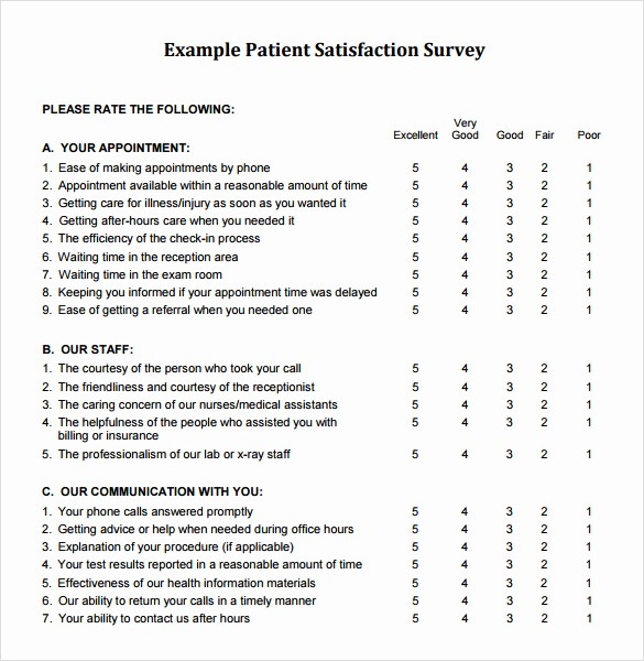Customer Satisfaction Survey Template Free Unique 9 Sample Client Satisfaction Survey Templates