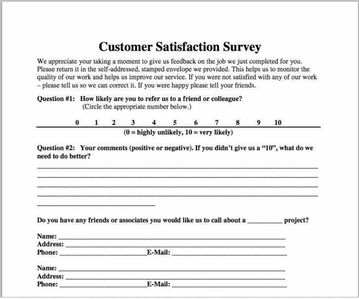 Customer Satisfaction Survey Template Free Unique Email Template for Customer Satisfaction Survey