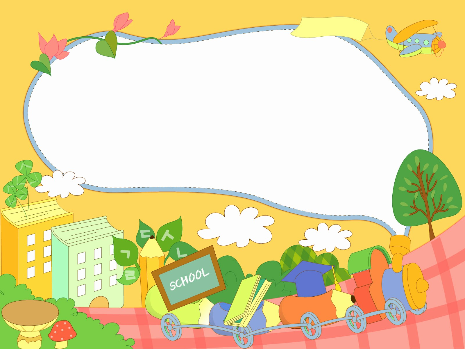 Cute School Backgrounds for Powerpoint Elegant Wallpaper Clipart School Pencil and In Color Wallpaper