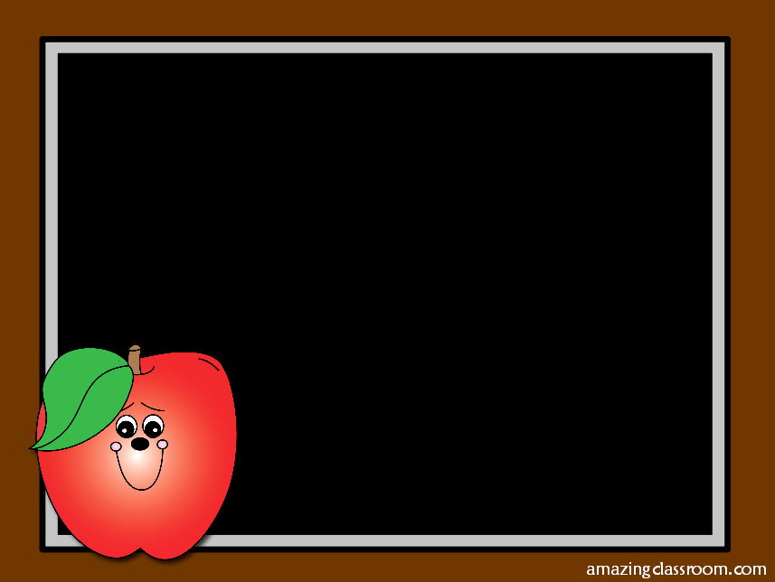 Cute School Backgrounds for Powerpoint Fresh Chalkboard Cliparts