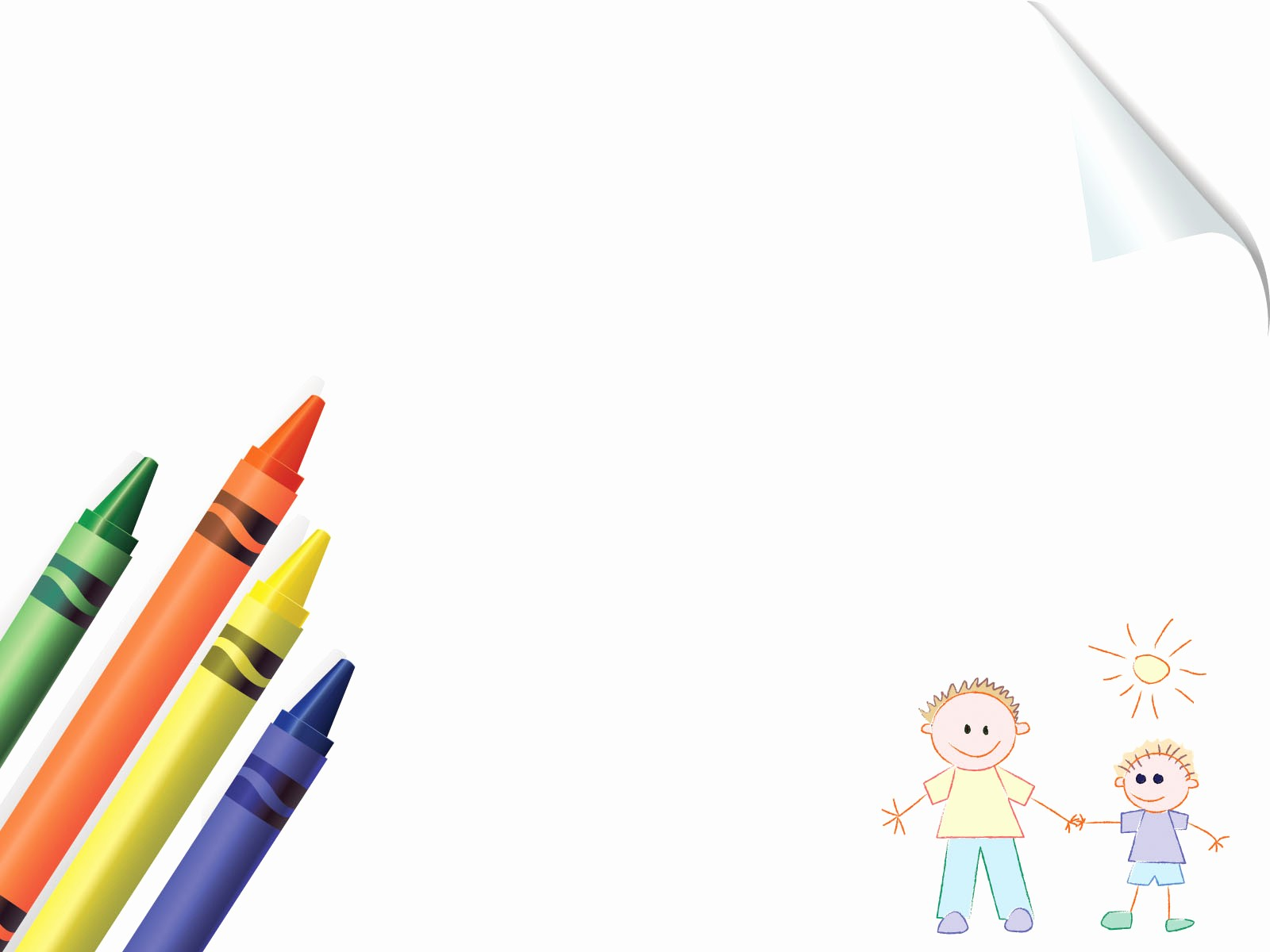 Cute School Backgrounds for Powerpoint Inspirational Crayons Board School Powerpoint Templates Blue