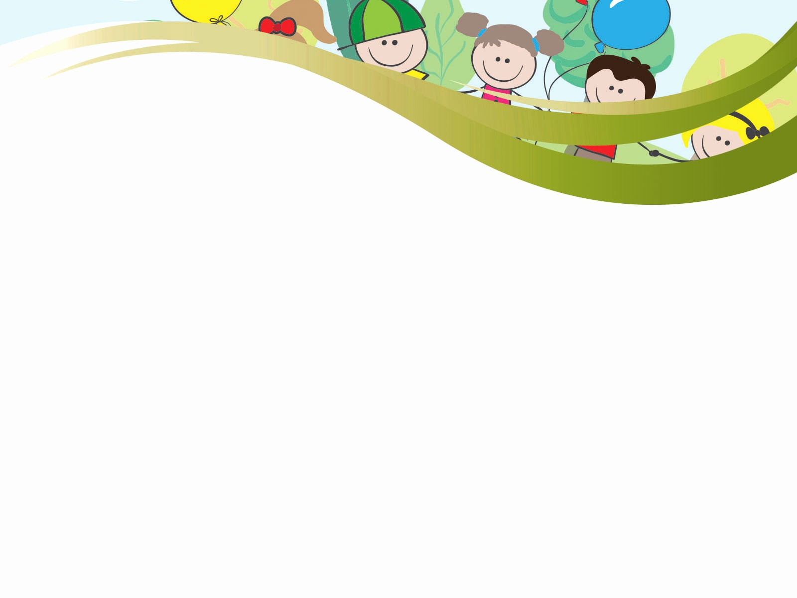 Cute School Backgrounds for Powerpoint New Children Festival Powerpoint Templates Green Holidays