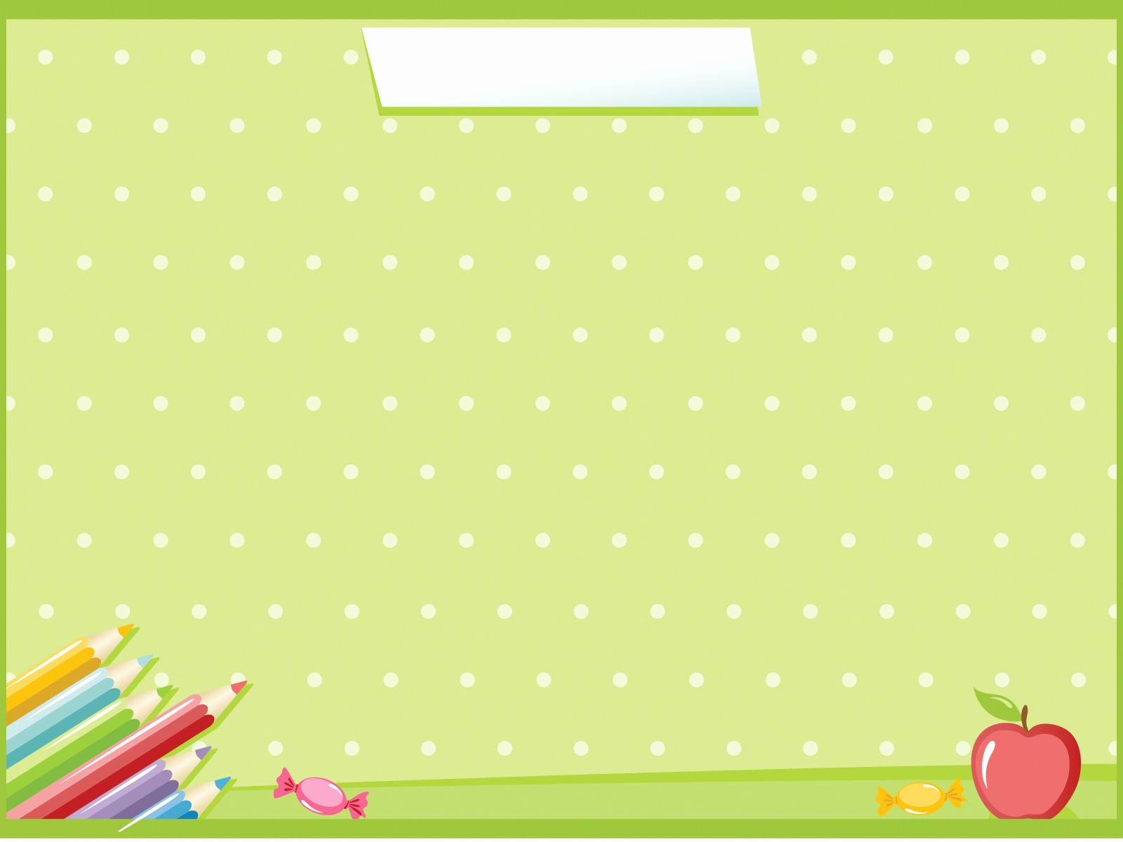 Cute School Backgrounds for Powerpoint New School Days Powerpoint Templates Education Lime orange