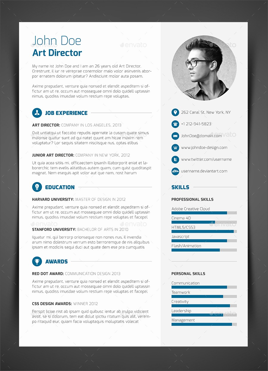 Cv and Cover Letter Template Elegant 3 Piece Resume Cv Cover Letter by Bullero