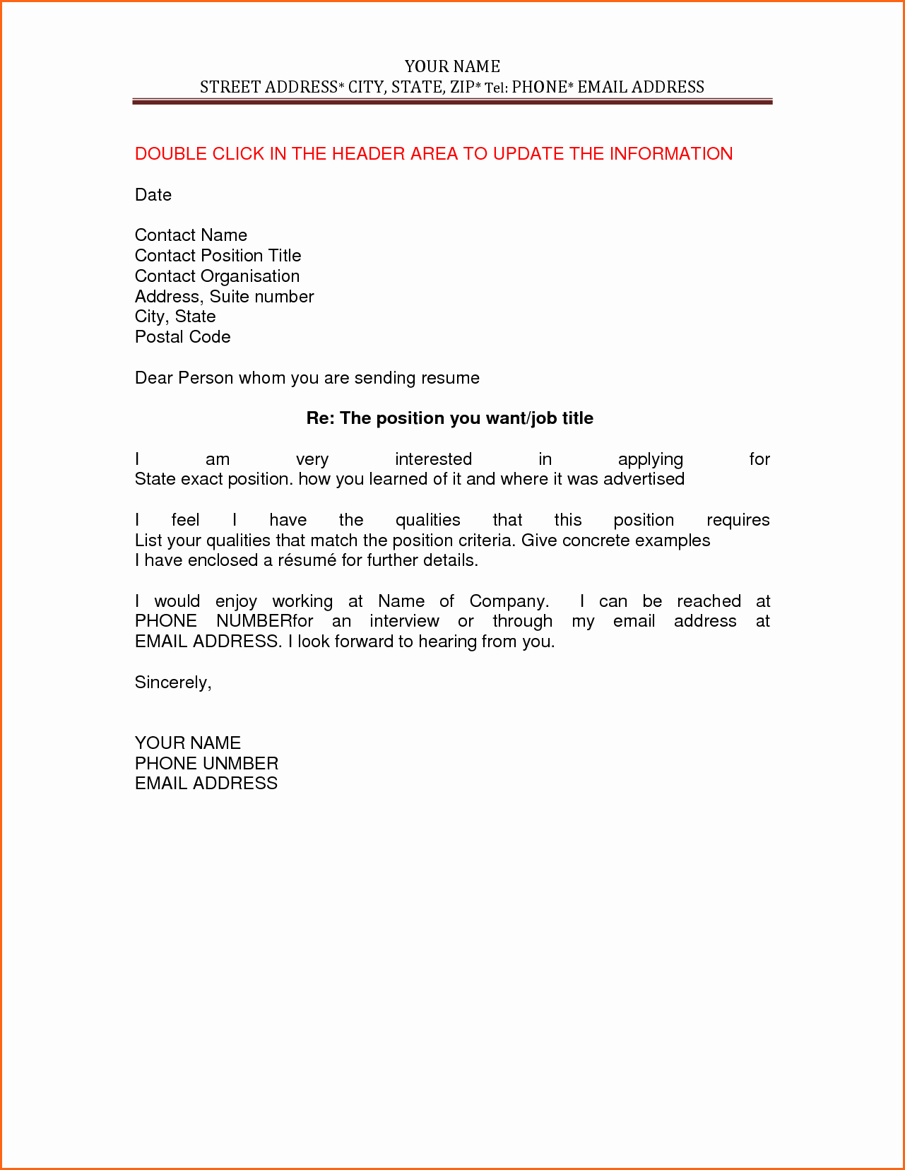 Cv and Cover Letter Template Lovely 12 Resume and Cover Letter Template Bud Template Letter