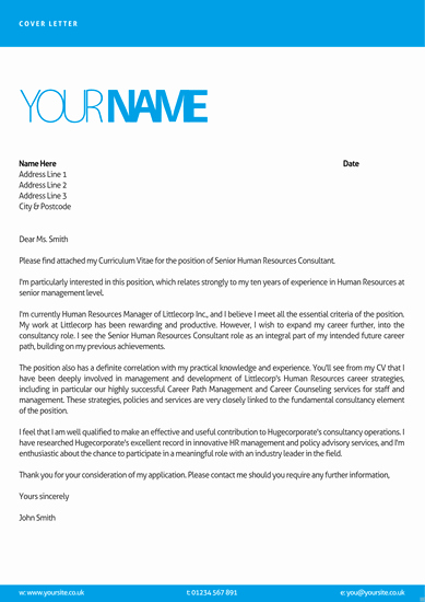 Cv and Cover Letter Template New It Cover Letters Templates