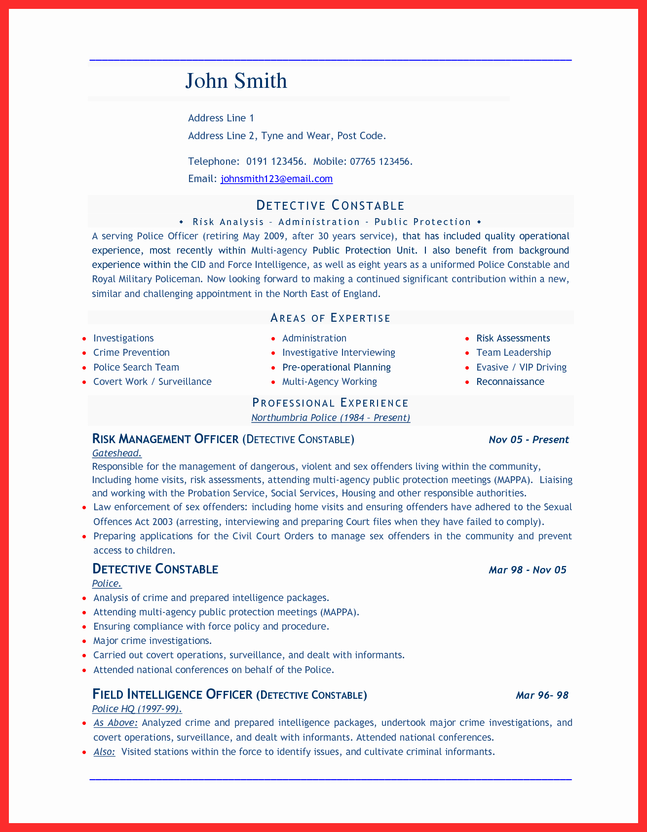 Cv format Samples In Word Awesome Word Document Sample