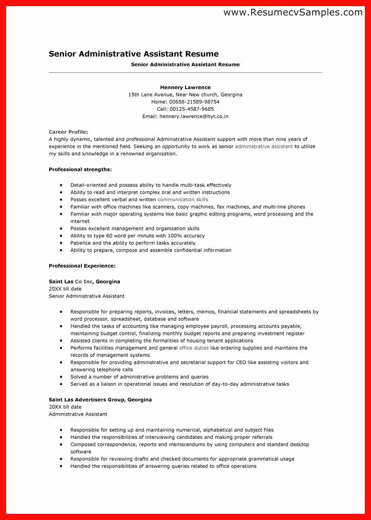 Cv format Samples In Word Fresh Word Resume Template 2014