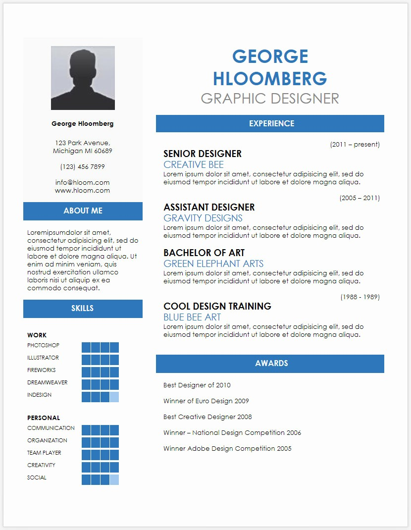 Cv format Samples In Word Lovely 12 Free Minimalist Professional Microsoft Docx and Google