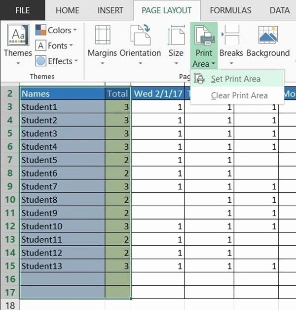 Daily attendance Sheet In Excel Best Of How to Create A Basic attendance Sheet In Excel