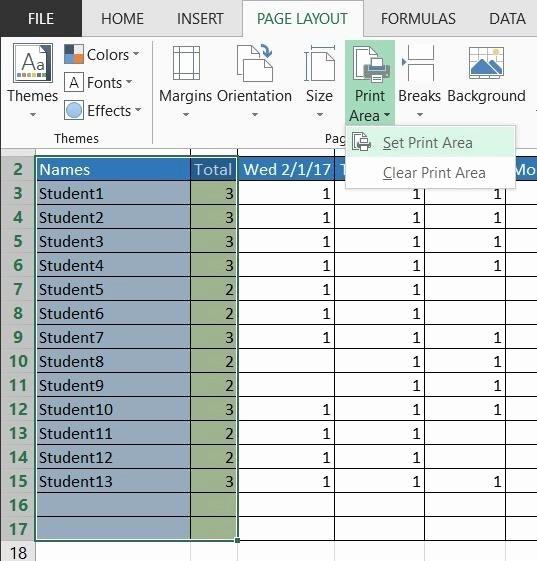 Daily attendance Sheet In Excel Inspirational How to Create A Basic attendance Sheet In Excel