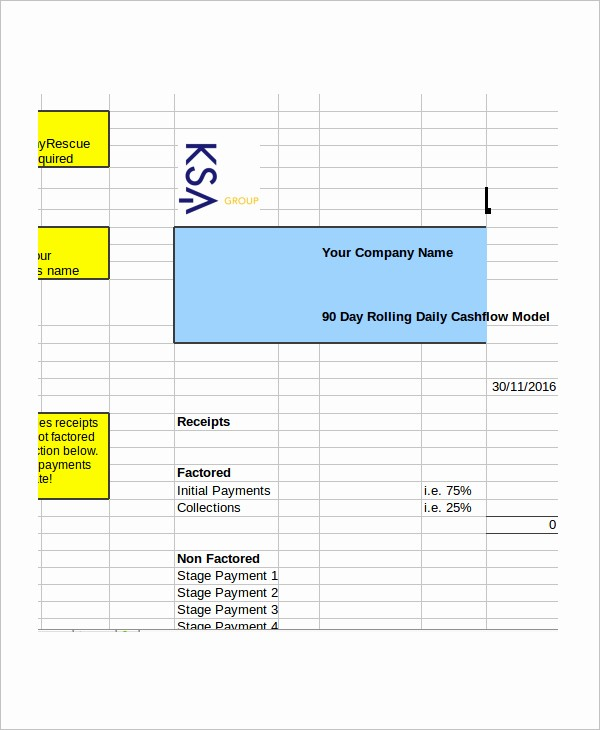 Daily Cash Report Template Excel Beautiful 33 Cash Flow Statement Templates Free Excel Pdf Examples