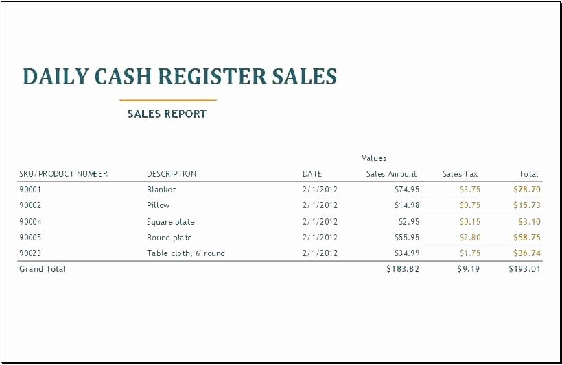 Daily Cash Report Template Excel Beautiful Daily Cash Flow Sheet Template Excel Lovely Restaurant