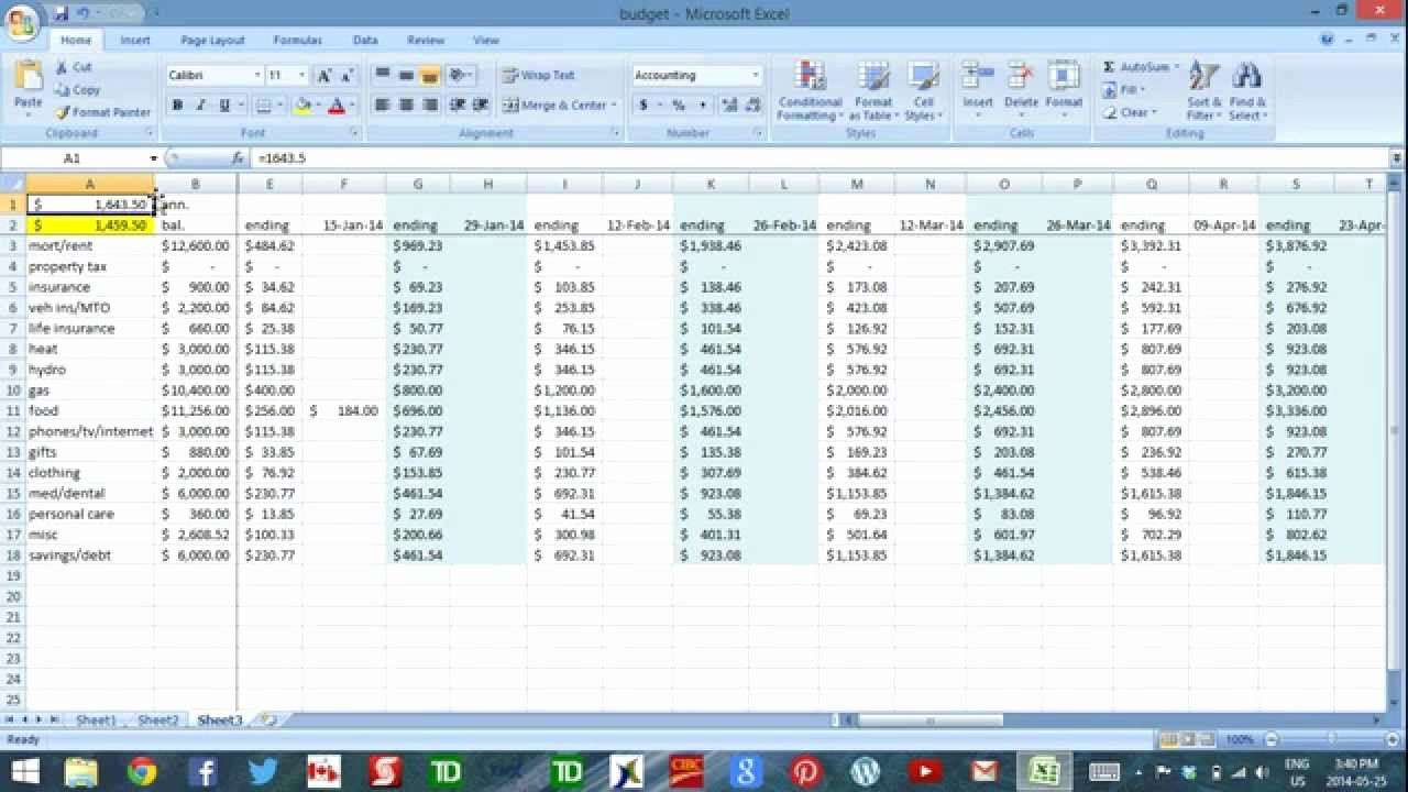 Daily Cash Report Template Excel Fresh Using Excel to Bud Part 3 Daily Cash Flow