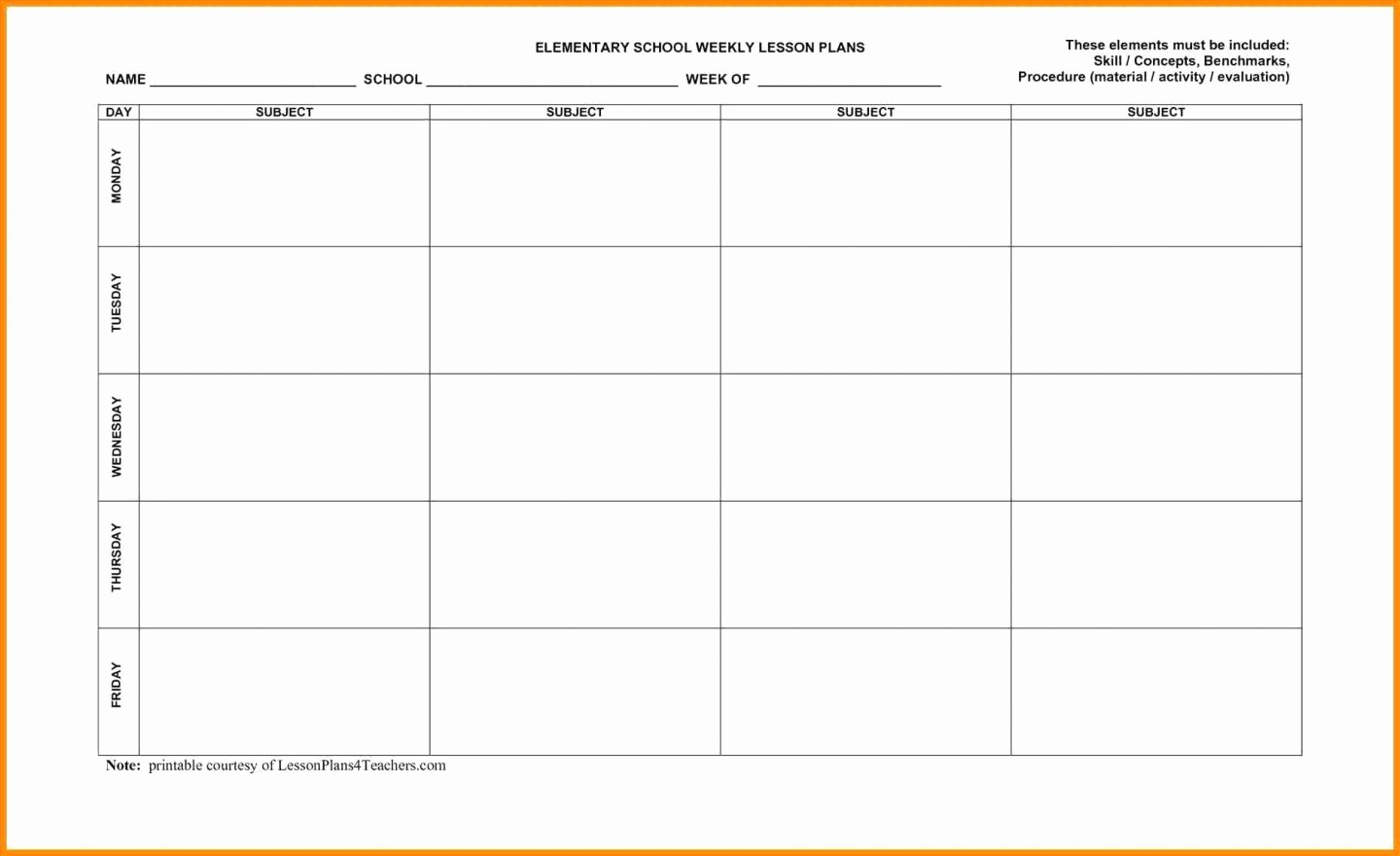 Daily Planner Template Google Docs Awesome Daily Lesson Plan Template High School Beautiful Doc Word