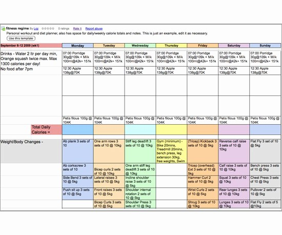 Daily Planner Template Google Docs Fresh Meal Planner Template Google Docs