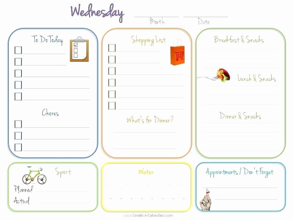 Daily Planner Template Google Docs Inspirational Daily Calendar Template – Vraccelerator