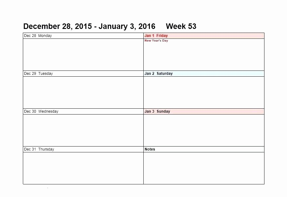 Daily Planner Template Google Docs Lovely Weekly Calendar Template Free with Hours – Grnwav