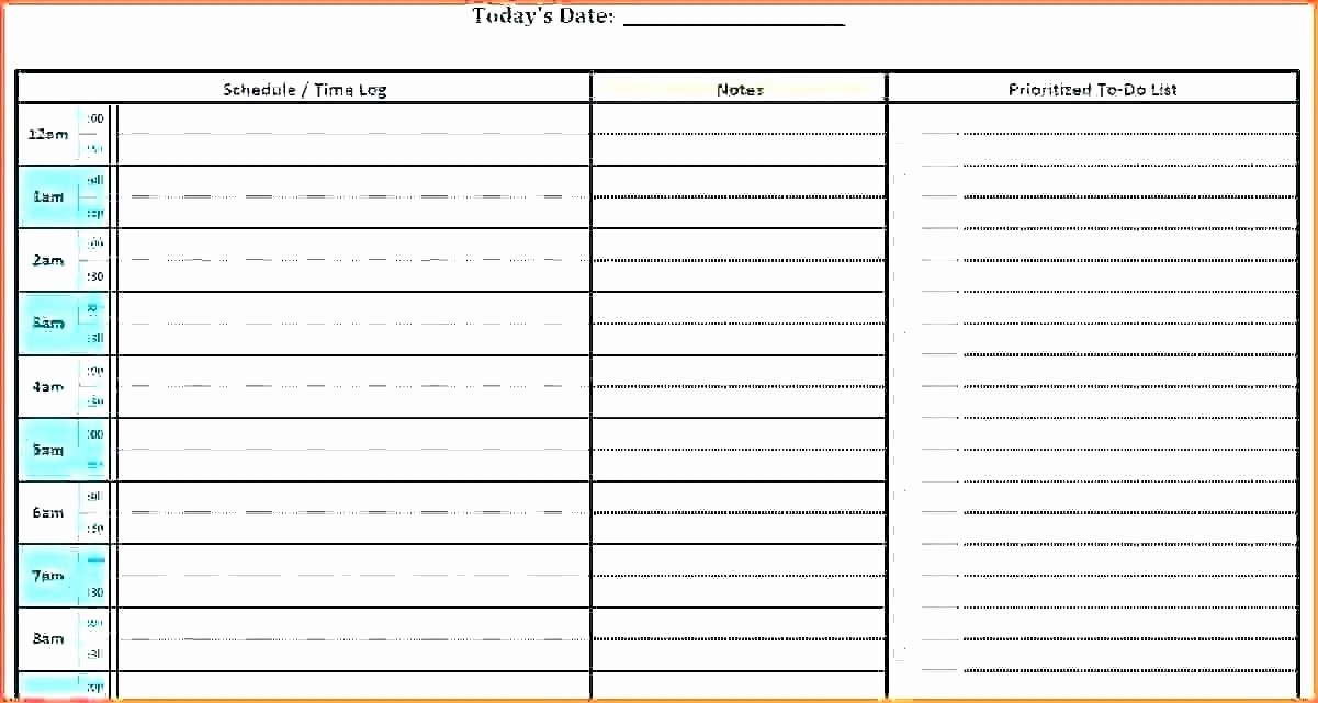 Daily Planner Template Google Docs Luxury Free Editable Daily Planner Template Time Schedule