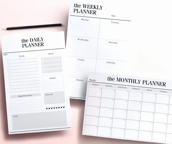 Daily Planner Template Google Docs New organize Your Personal and Business Life with the Daily