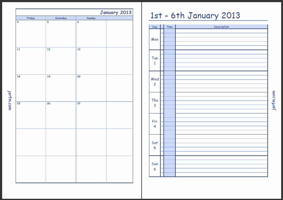 Daily Planner with Time Slots Awesome the Gallery for Weekly Planner with Time Slots