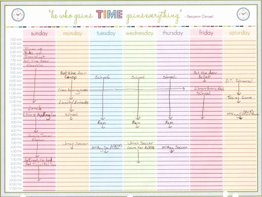 Daily Planner with Time Slots Beautiful 6 Best Printable Daily Calendar with Time Slots
