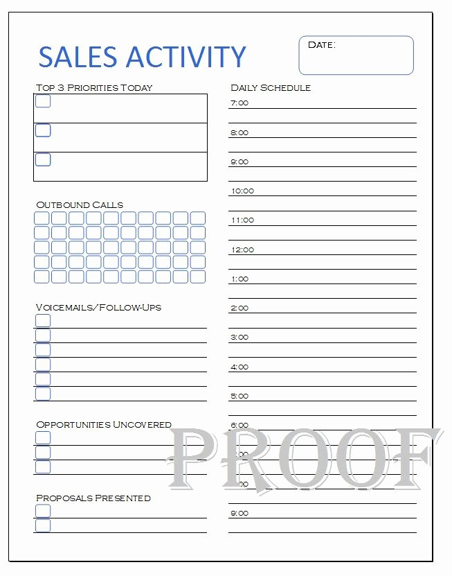 Daily Sales Call Sheet Template Inspirational New to Mandcenter On Etsy Sales Activity Tracker Daily