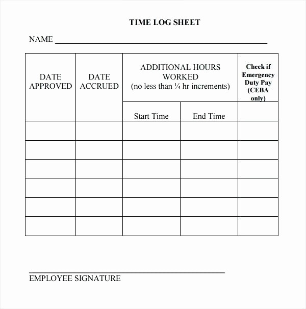 Daily Sign In Sheet Template Awesome Plete Log Work Template Tutor Drivers Daily
