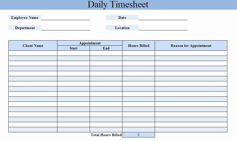 Daily Time Card Template Excel Lovely Free Timesheet Calculator Excel Word Pdf Template