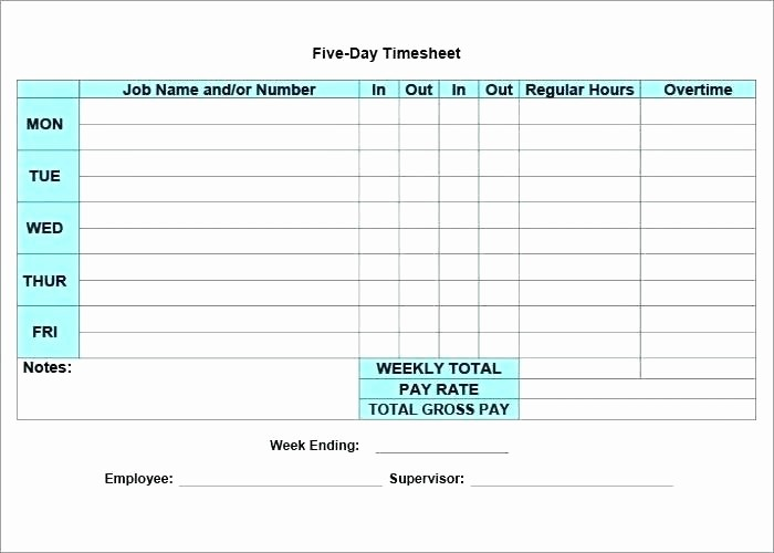 Daily Time Card Template Excel Luxury Monthly Time Card Template Semi Excel Sheet Daily format