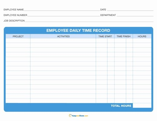 Daily Timesheet Template Free Printable Best Of Microsoft Excel Daily Timesheet Templates Time Sheet