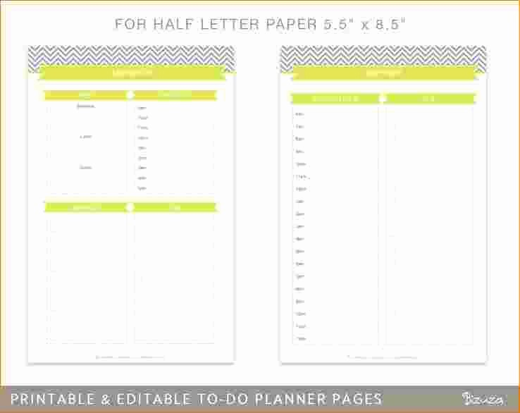 Daily Weekly Monthly Planner Template Awesome 4 Daily Weekly Monthly Planner