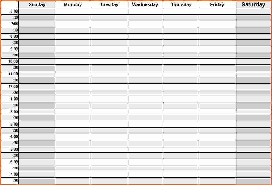 Daily Weekly Monthly Planner Template Awesome Daily Calendar