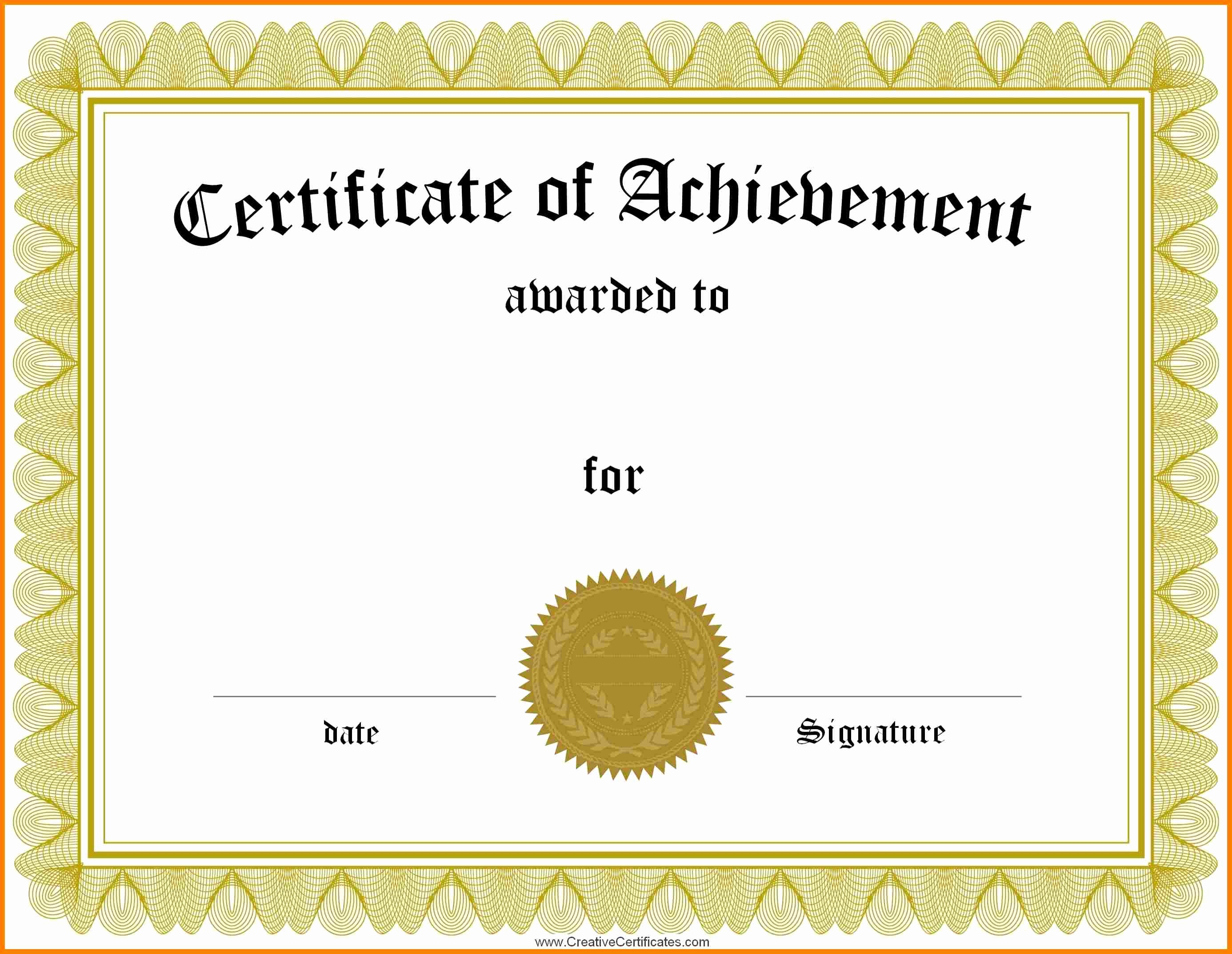 Dance Certificate Templates for Word Inspirational Blank Certificate forms Portablegasgrillweber