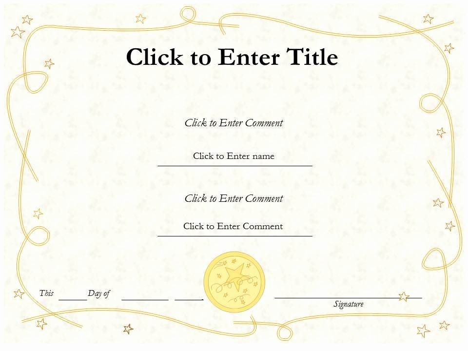 Dance Certificate Templates for Word New Free Editable Blank Award Certificate Template Example