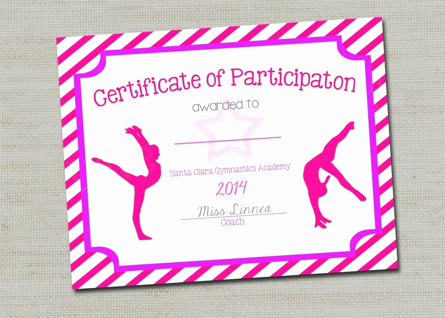Dance Certificate Templates for Word New Template Blank Award Certificate Template