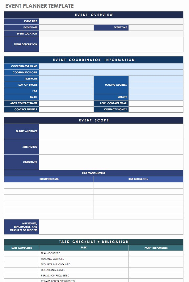 Day Of event Schedule Template New 21 Free event Planning Templates