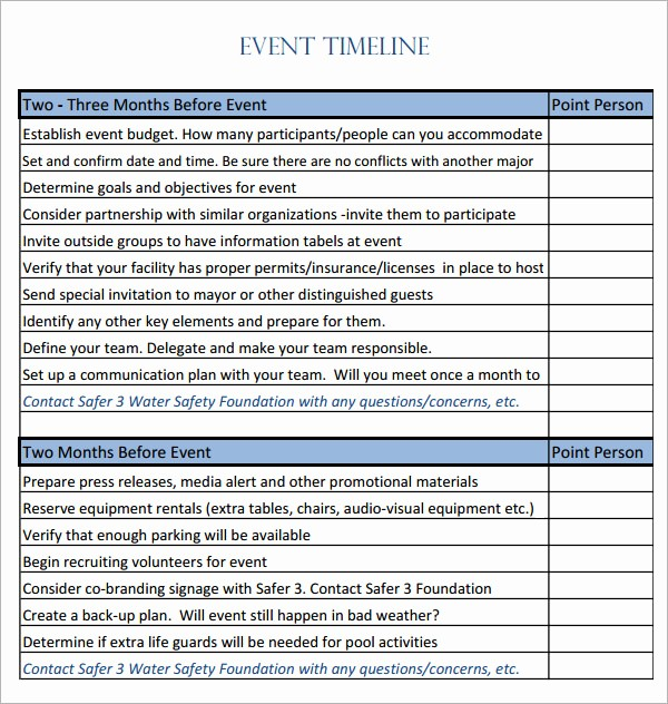 Day Of event Timeline Template Luxury event Timeline 10 Download Free Documents In Pdf Doc
