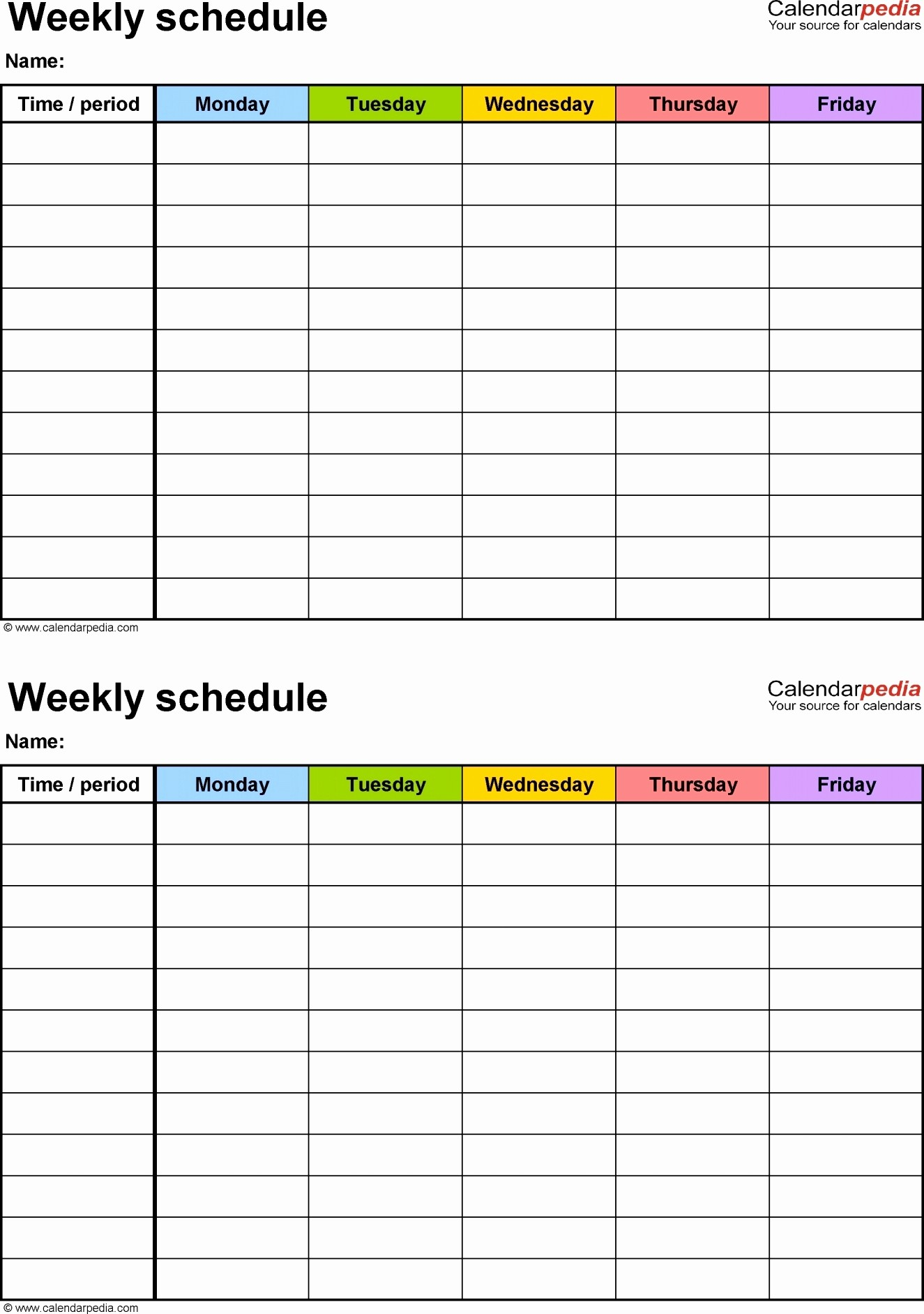 Day to Day Schedule Template Fresh Weekly Schedule Template Google Docs