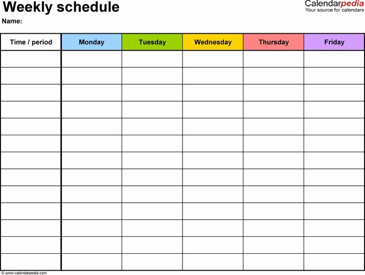 Day to Day Schedule Template Inspirational Best 25 Daily Schedule Template Ideas On Pinterest