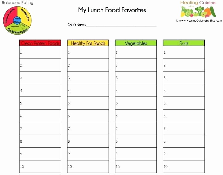 Daycare Menu Templates Free Download Beautiful Printable Daycare Menu Template Cycle Finding Ideas for