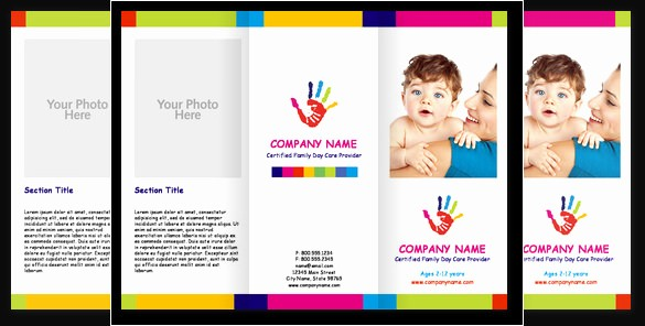 Daycare Menu Templates Free Download Best Of 16 Beautiful Child Care Brochure Templates Docs Ai