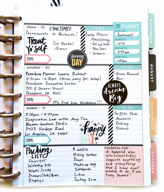 Days Of the Week Horizontal Beautiful 900 Best Erin Condren Life Planner & Notebooks Images On