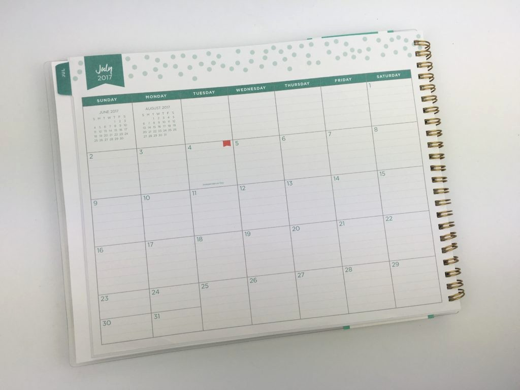 Days Of the Week Horizontal Elegant Day Designer for Blue Sky Horizontal Weekly Planner Review