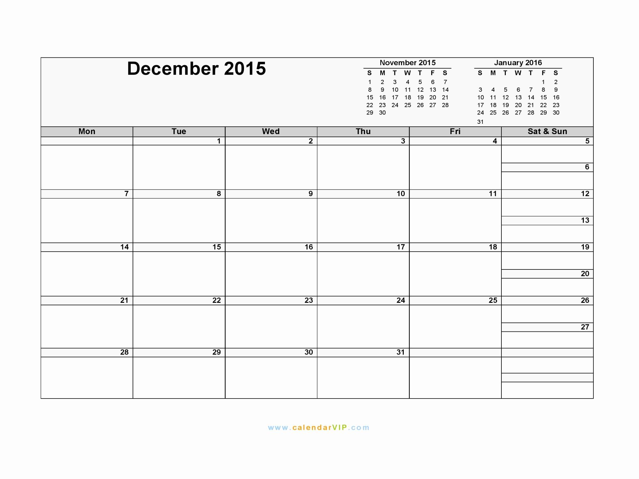 December 2015 Calendar Word Document Beautiful December 2015 Calendar Blank Printable Calendar Template