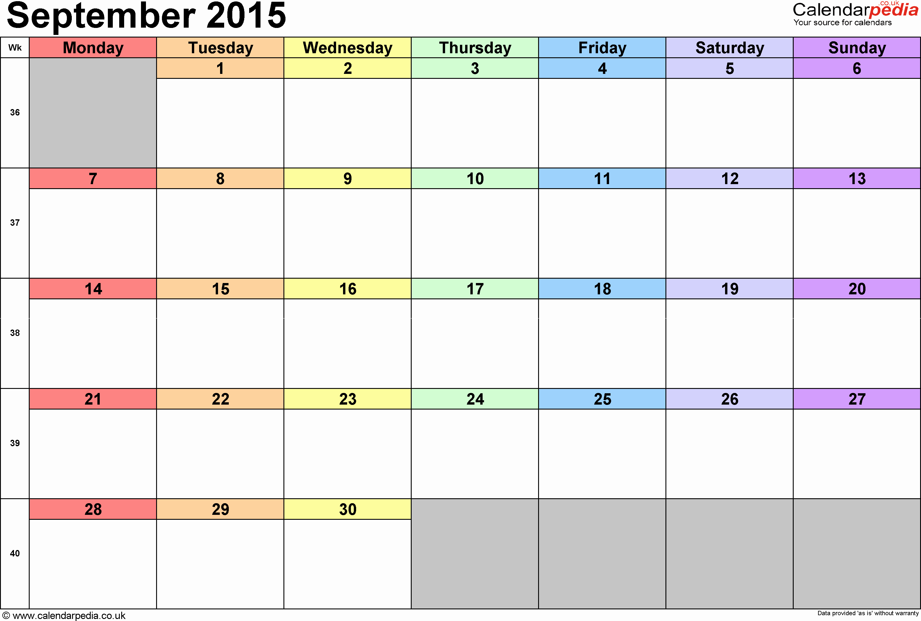 December 2015 Calendar Word Document Fresh Calendar September 2015 Uk Bank Holidays Excel Pdf Word