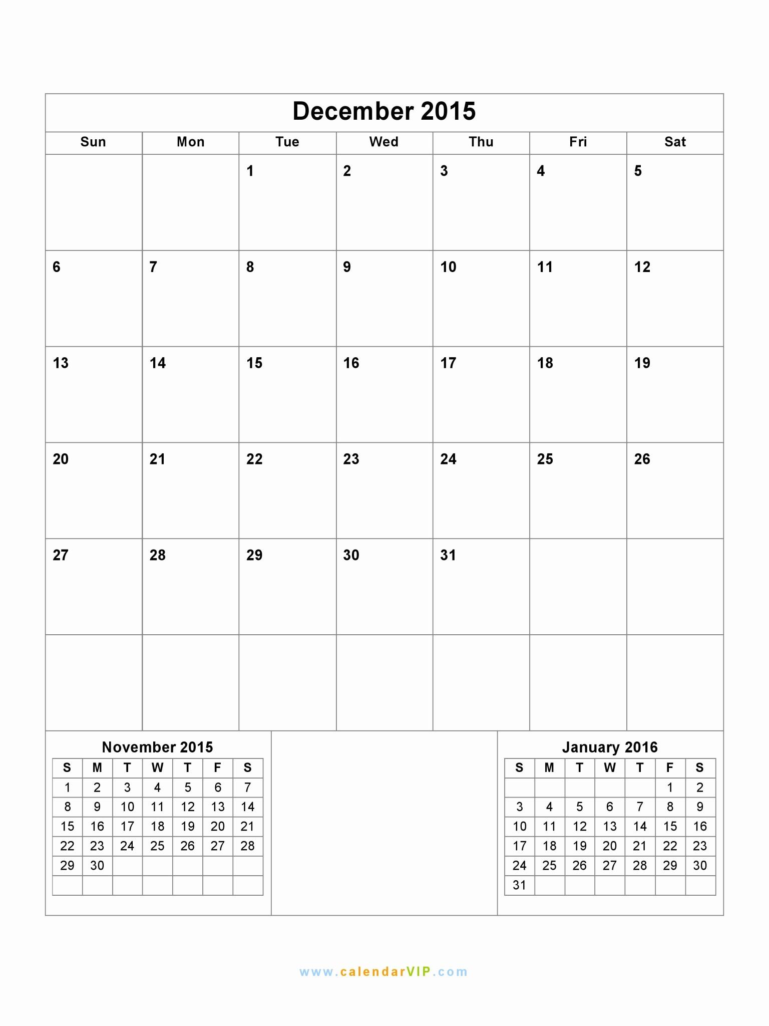 December 2015 Calendar Word Document Luxury December 2015 Calendar Blank Printable Calendar Template