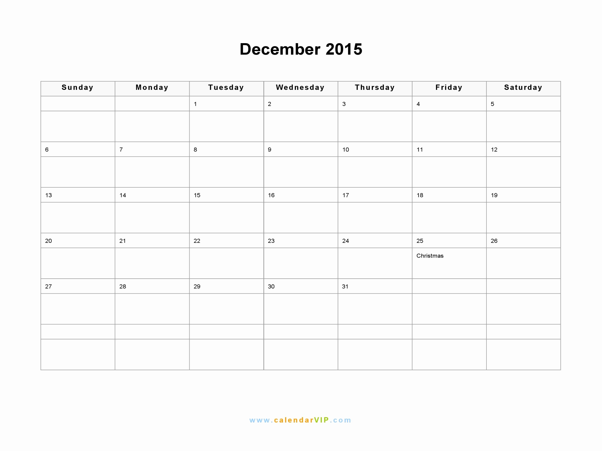 December 2015 Calendar Word Document Unique December 2015 Calendar Blank Printable Calendar Template