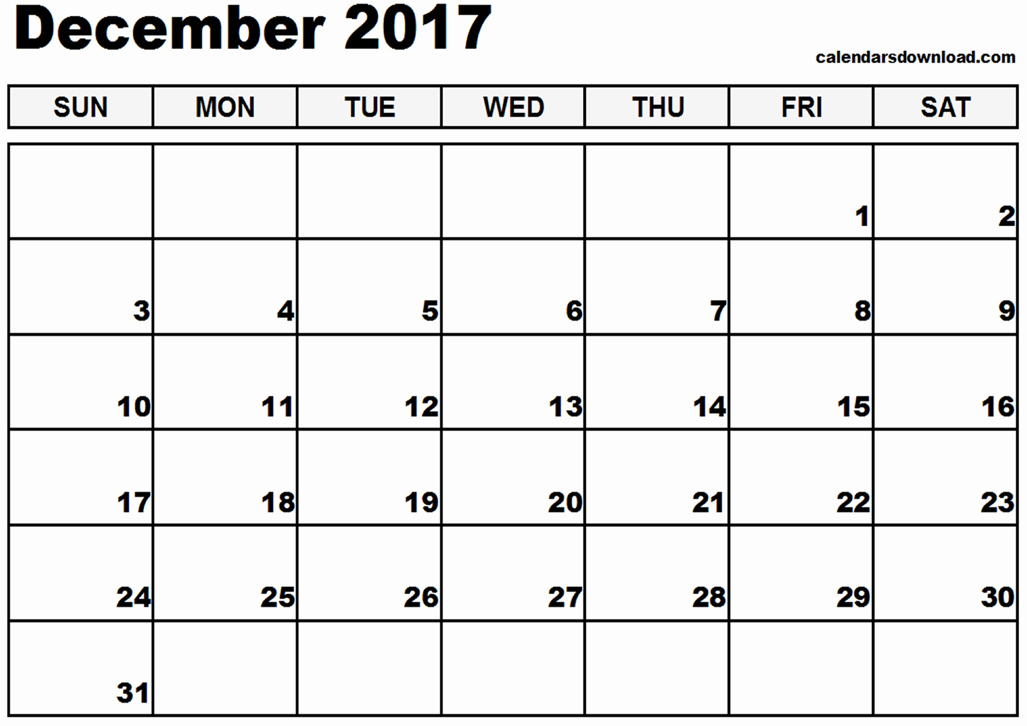 December 2017 Calendar Template Word Best Of December 2017 Calendar Template