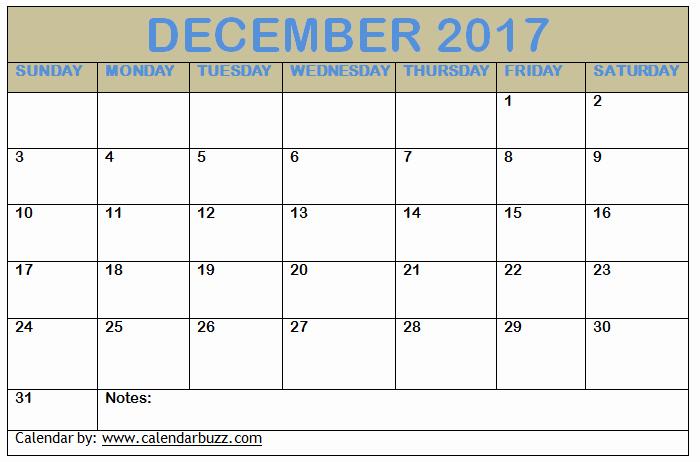 December 2017 Calendar Template Word Luxury 2017 December Calendar Template Download Word Excel